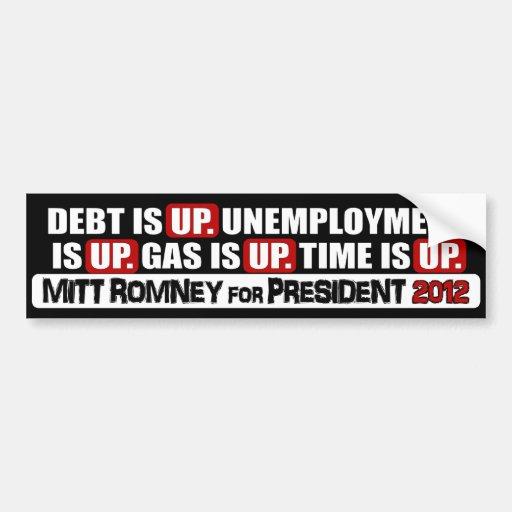 Mitt Romney for President - 2012 Bumper Sticker