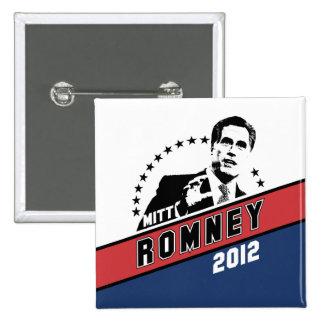 Mitt Romney for President 2012 Pinback Buttons
