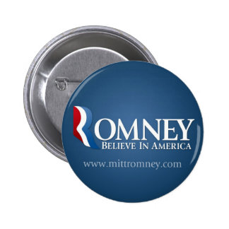 Mitt Romney for President 2012 Button