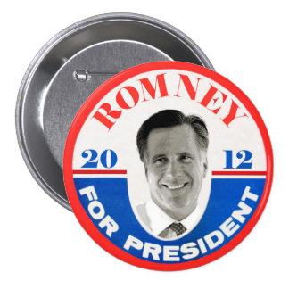 Mitt Romney for President 2012 Button