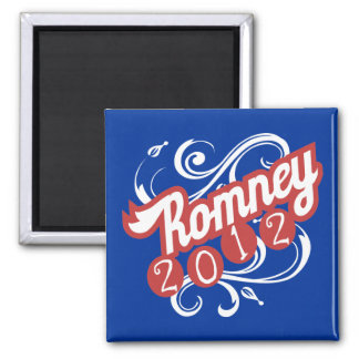 Mitt Romney for President - 2012 Election Gear 2 Inch Square Magnet