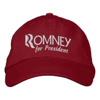 Mitt Romney for President 2012 Embroidered Baseball Cap