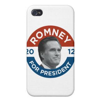 Mitt Romney For President 2012 iPhone 4 Cases