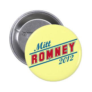 Mitt Romney for President 2012 Pinback Button