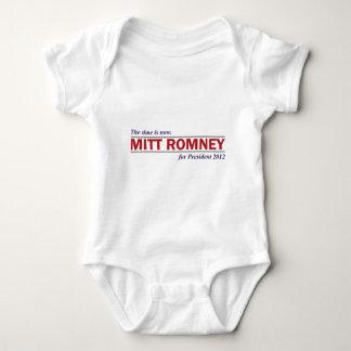 Mitt Romney for President 2012 The Time is Now Baby Bodysuit