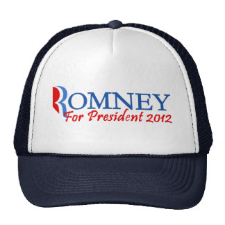 Mitt Romney For President 2012 Trucker Hat