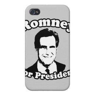 MITT ROMNEY FOR PRESIDENT 2 COVERS FOR iPhone 4
