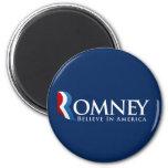 Mitt Romney for President 2 Inch Round Magnet