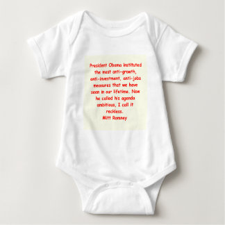 mitt romney for president baby bodysuit