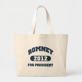 Mitt Romney for President Jumbo Tote Bag