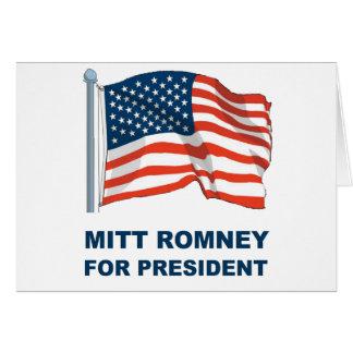 Mitt Romney for President Greeting Card