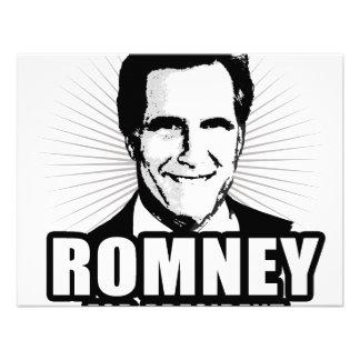 Mitt Romney for President Custom Invitation