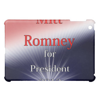 Mitt Romney For President Dulled Explosion iPad Mini Covers