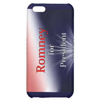 Mitt Romney For President Dulled Explosion iPhone 5C Case