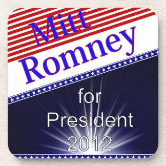 Mitt Romney For President Explosion Beverage Coaster