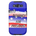 Mitt Romney For President Fading Red White And Blu Samsung Galaxy SIII Covers