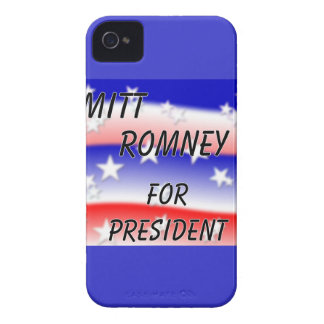 Mitt Romney For President Fading Red White And Blu iPhone 4 Case