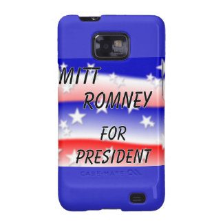 Mitt Romney For President Fading Red White And Blu Samsung Galaxy SII Case