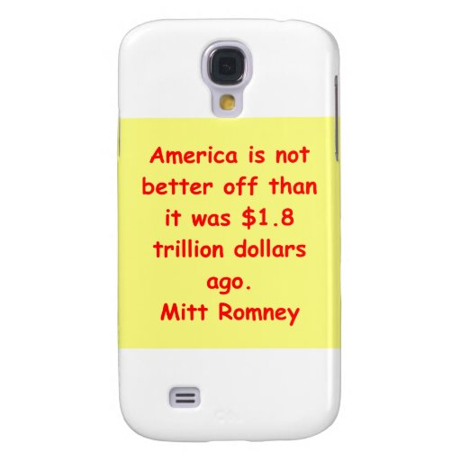 mitt romney for president galaxy s4 covers
