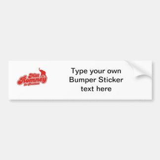 MITT ROMNEY FOR PRESIDENT GOP BUMPER STICKER