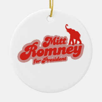 MITT ROMNEY FOR PRESIDENT GOP.png Christmas Ornaments