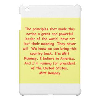 mitt romney for president cover for the iPad mini
