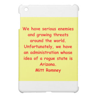 mitt romney for president iPad mini cover