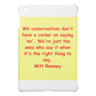 mitt romney for president case for the iPad mini