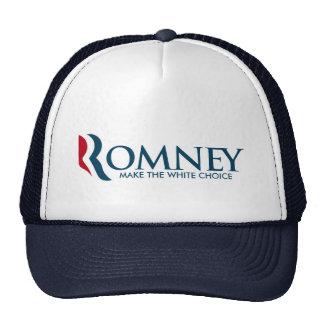 Mitt Romney for President - Make the White Choice Trucker Hat
