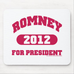 Mitt Romney for President Mouse Pad