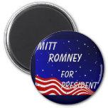 Mitt Romney For President Night Sky Fridge Magnet