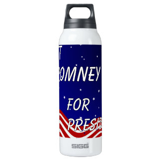 Mitt Romney For President Night Sky 16 Oz Insulated SIGG Thermos Water Bottle