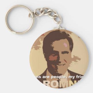 Mitt Romney For President NOT! Keychain