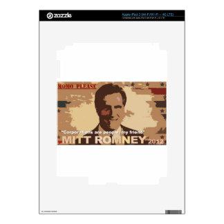 Mitt Romney For President NOT iPad 3 Skins