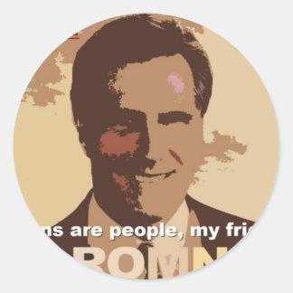 Mitt Romney For President NOT! Stickers