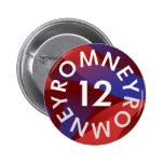 Mitt Romney for President of the USA Pin