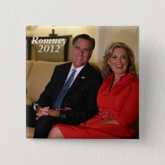 Mitt Romney for president! Pinback Button