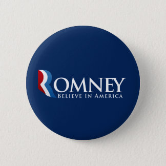 Mitt Romney for President Pinback Button