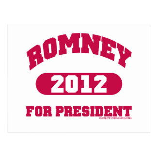 Mitt Romney for President Postcard