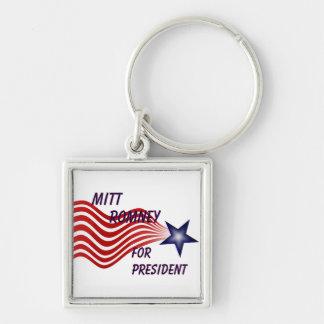 Mitt Romney For President Shooting Star Keychain