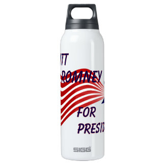 Mitt Romney For President Shooting Star 16 Oz Insulated SIGG Thermos Water Bottle
