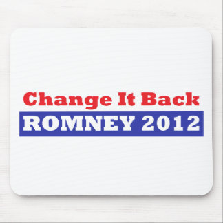 Mitt Romney for President stars and stripes Mouse Pad