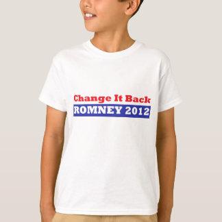 Mitt Romney for President stars and stripes T-Shirt