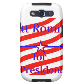 Mitt Romney For President Strips With 3 Stars And Galaxy SIII Cases