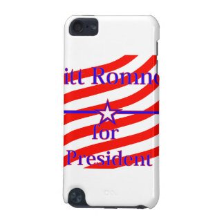 Mitt Romney For President Strips With 3 Stars And iPod Touch 5G Cover
