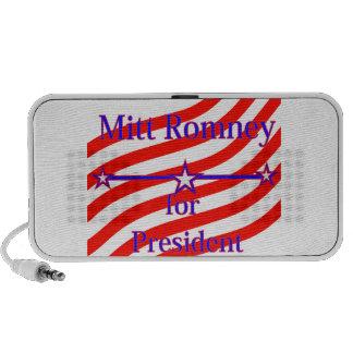 Mitt Romney For President Strips With 3 Stars And Portable Speaker