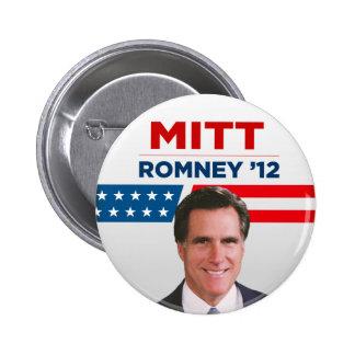 Mitt Romney for US President 2012 Pin