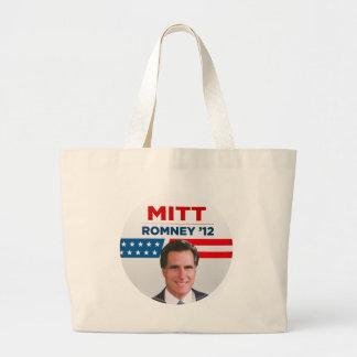 Mitt Romney for US President 2012 Large Tote Bag