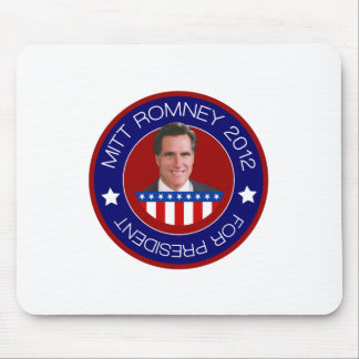 Mitt Romney for US President 2012 Mouse Pad