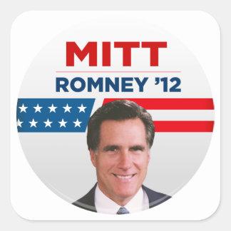 Mitt Romney for US President 2012 Square Sticker